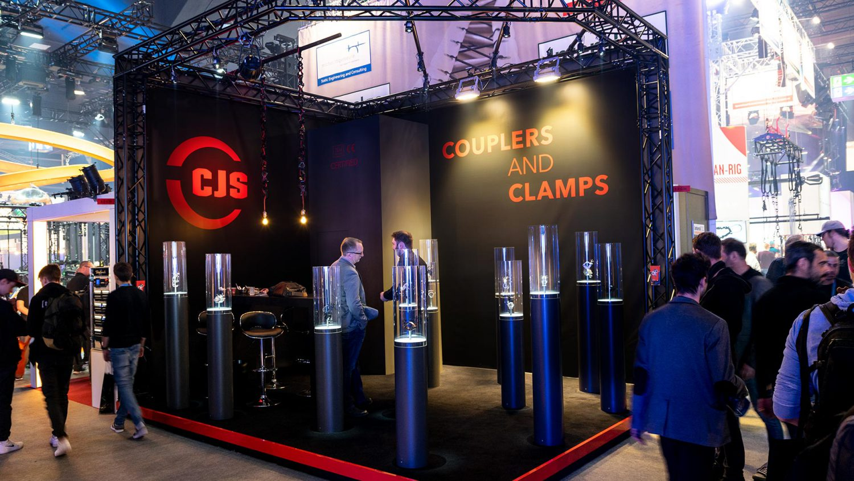 CJS Europe  - Fair booth