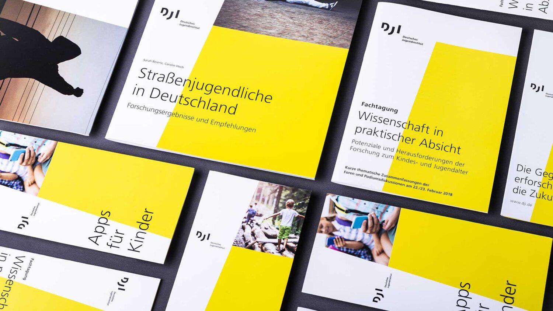 Deutsches Jugendinstitut  - Corporate Design
